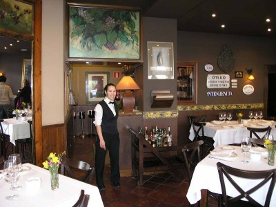 Restaurant in Asturien